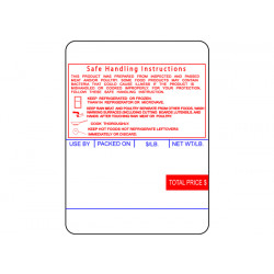 Ishida Safe Handling Instructions Labels